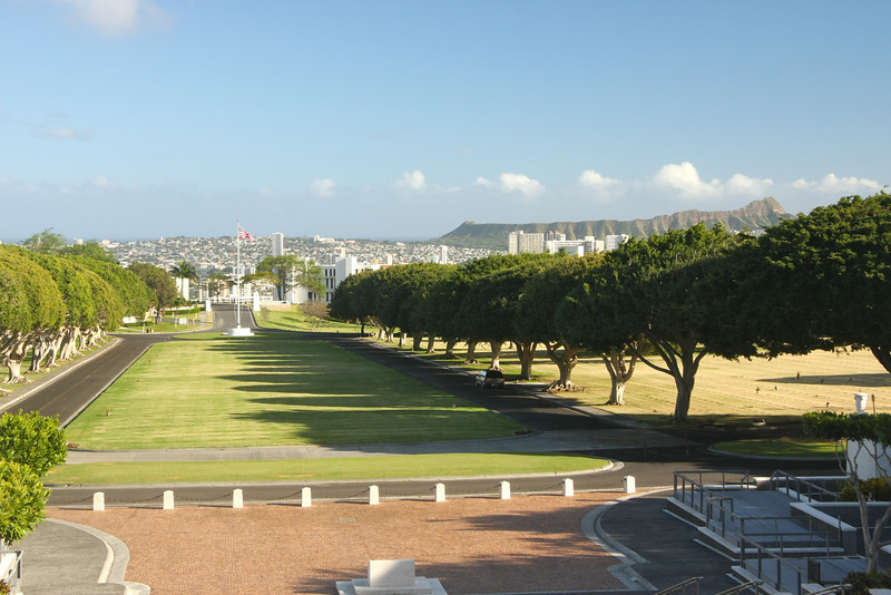 Punchbowl Cemetery, Honolulu, Oahu