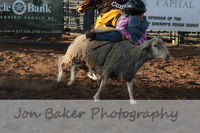 Day 4 - mutton busting