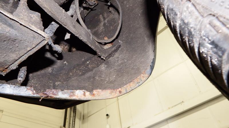RHF Lower Valance - Surface Rust