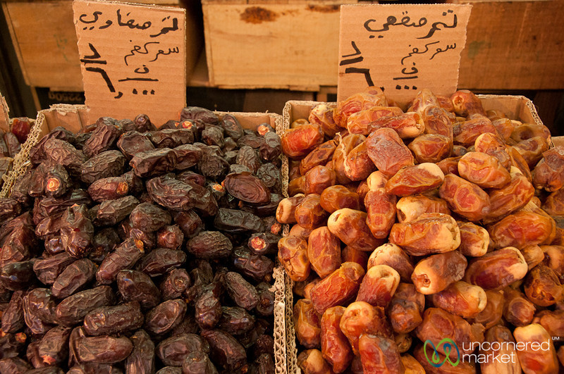Piles of Dried Fruit - Amman, Jordan