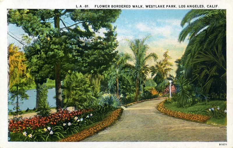 Flower Bordered Walk