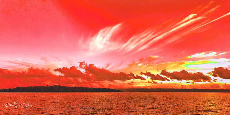 Fantasy Sunrise. Exclusive Original stock Photo Art digital download. DIY Designer Print. XSDP3179.