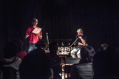 Recital en la Sala el Cachorro. 7 Nov. 2015. Triana, Sevilla.
