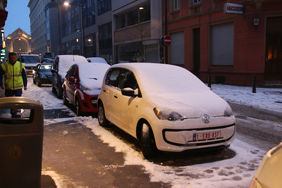 snowed in in Luxembourg