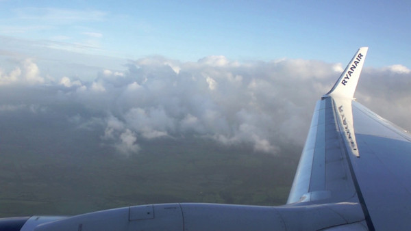 Flying into Farranfore, 2010