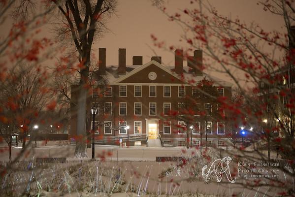 Boston and Cambridge in Winter