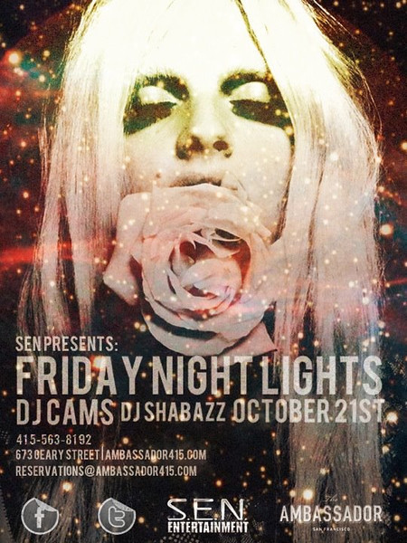 Sen Presents Friday Night Lights @ Ambassador 10.21.11
