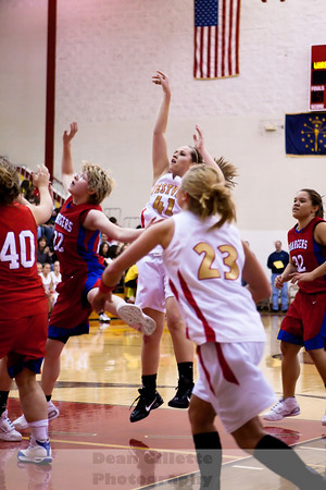 Varsity Girls BBall v West Noble