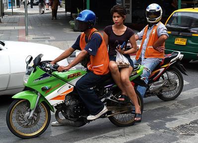 Walking Around Bangkok
