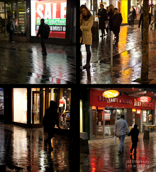 Another City reflections shot.  I know I am getting repetitive.  However I like these better than the last set.  All taken in Sauchihall Street one of the main shopping streets in Glasgow.  5pm on a Tuesday night.