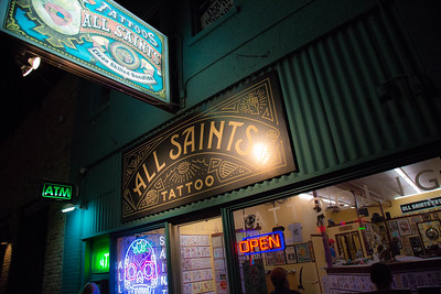 All Saints Tattoo