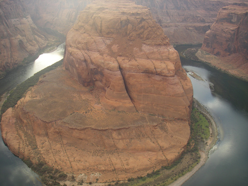 Horseshoe Band - the tremendous curve in the Colorado River. Unfortunately – I didn't have wide-angle lens camera.