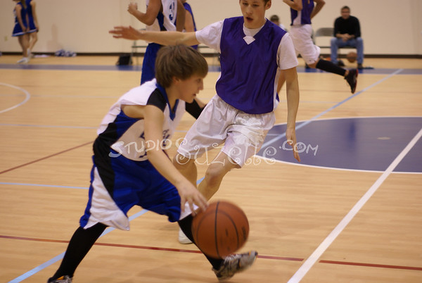 JV Basketball 2007-08