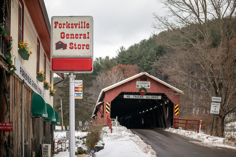 Forksville Covered Bridge over the Loyalsock Creek