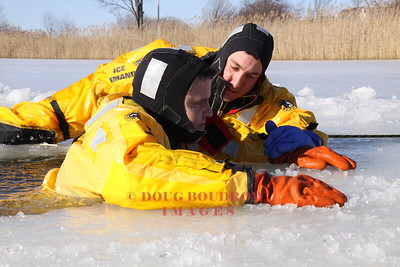 Winthrop, MA - Ice Rescue Training, 2-9-09