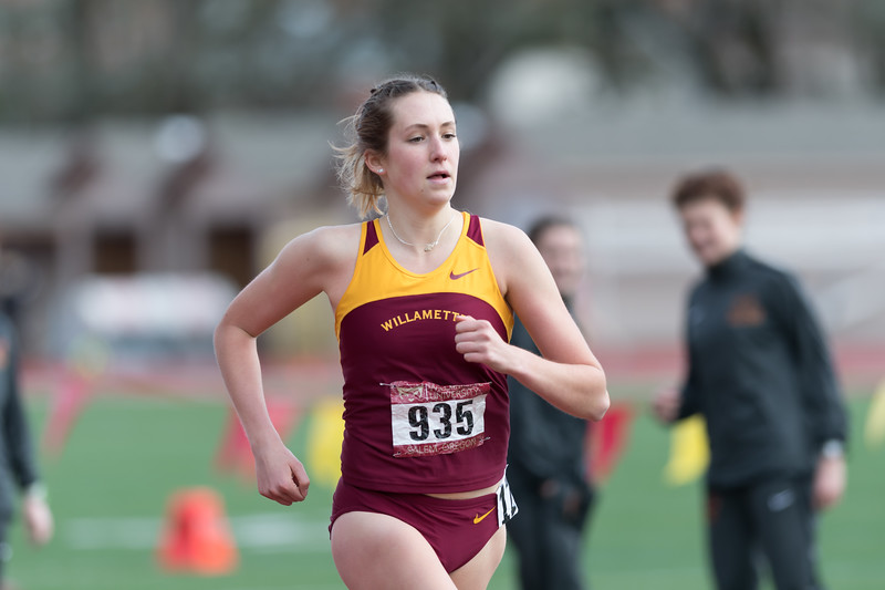 Willamette Opener - Track and Field - Mar. 3, 2018