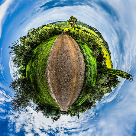 Waiheke Island Tiny Planet Photos