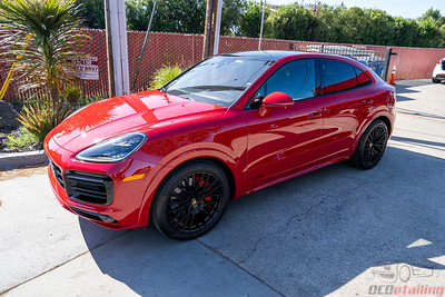 Porsche Cayenne - Front End PPF and CQFR Coating