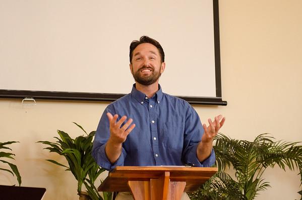 Pastor Fraser's Installation