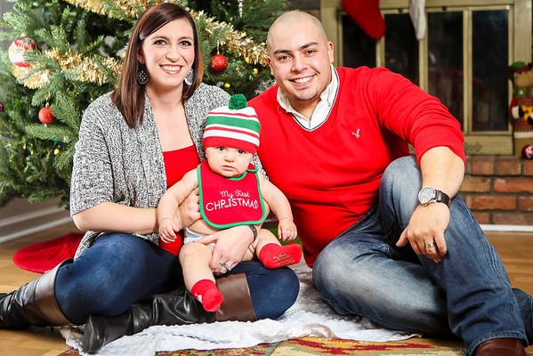 Samantha & Antonio Fall Family Session