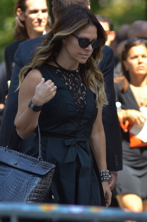. NEW YORK, NY - SEPTEMBER 07: Jillian Michaels attends the Joan Rivers memorial service at Temple Emanu-El on September 7, 2014 in New York City. (Photo by Kris Connor/Getty Images)