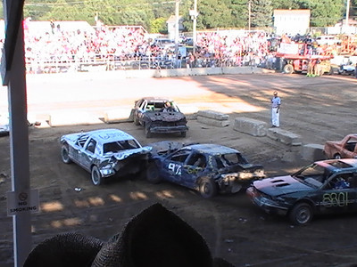 2008 Combine Derby, Cow Chip Bingo, Demo Derby
