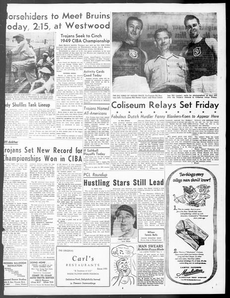 Daily Trojan, Vol. 40, No. 141, May 17, 1949
