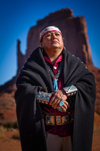 Male Navajo and West Mitten