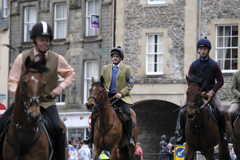 Hawick Common Riding 2019 — Preisthaugh Rideout