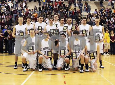 2012 District IX A Boys Basketball Championship Ridgway vs. Johnsonburg