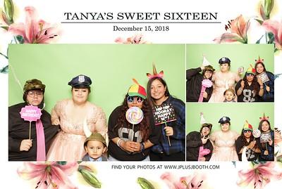 Tanya's Sweet Sixteen