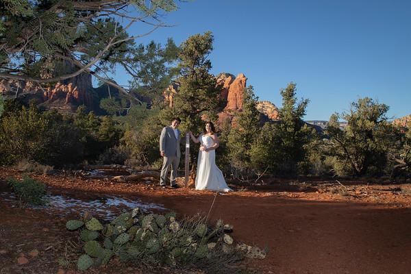 Jessica & Dominic's Sedona Wedding