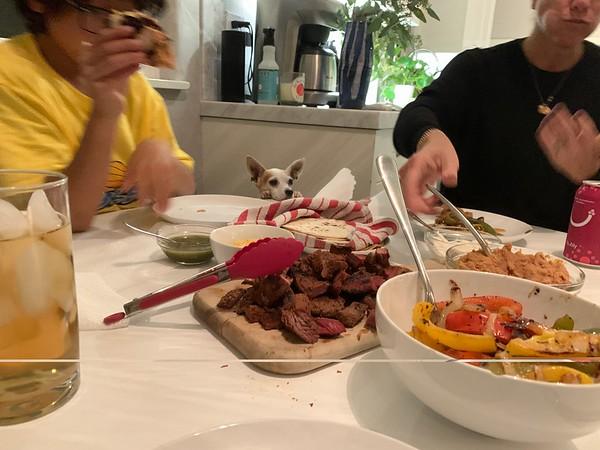 2019.10.13 Carne Asada dinner