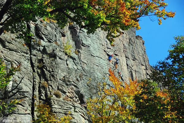 Battert climbing, Baden-Württemberg
