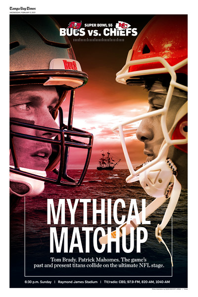 16 x 24 - Mythical Matchup