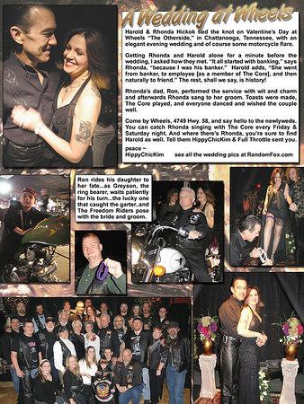 Harold & Rhonda Tie The Knot! 2.14.2007