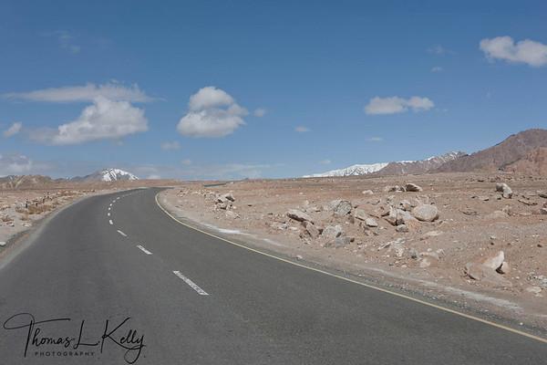 Ladakh Road Construction
