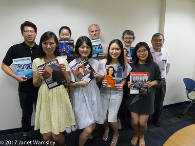 8-17-2017 GWU Toastmasters meeting
