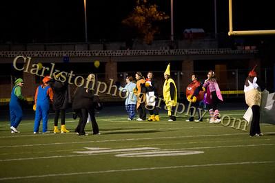 2012 Clarkston Varsity Football vs. Davision
