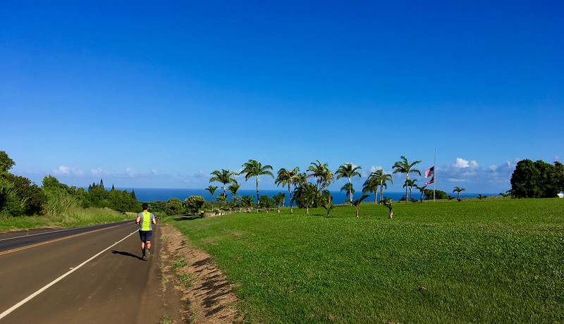 Morning Run Along Hana Hwy