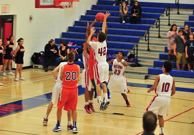 Arcadia V Thunderbird Basketball 11-29-12
