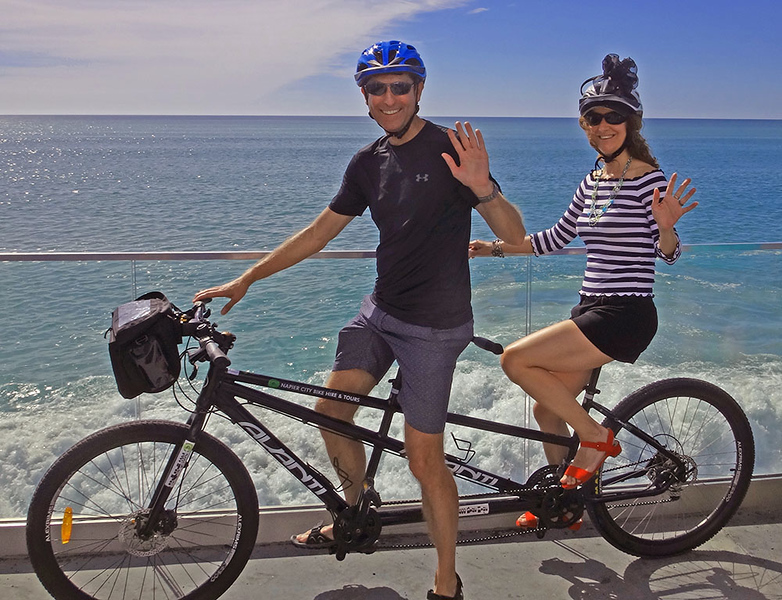 Tandem bike tour
