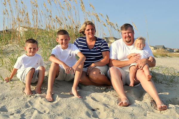 Ocean Isle Beach Family Photos Aug 3