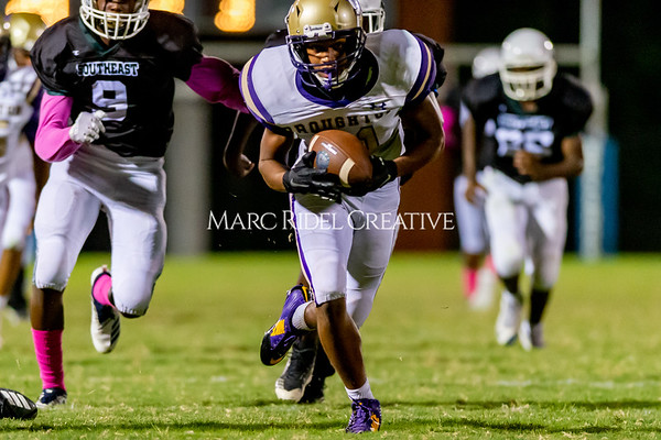 Broughton Varsity football at Southeast Raleigh. October 4, 2019. D4S_5348