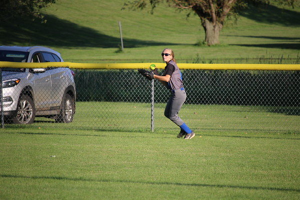 Class 2A Region 4 softball tournaments versus Hinton 7-10-19