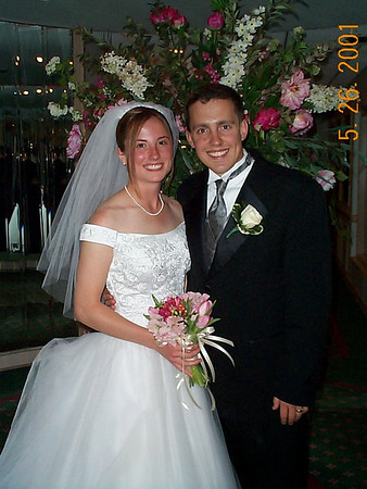 Kim & Brian's Wedding - May 26, 2001