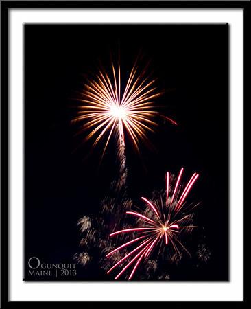 Fireworks In Ogunquit Maine