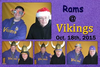 11-8 Rams @ Vikings