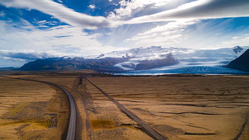 Iceland Roads & Glaciers
