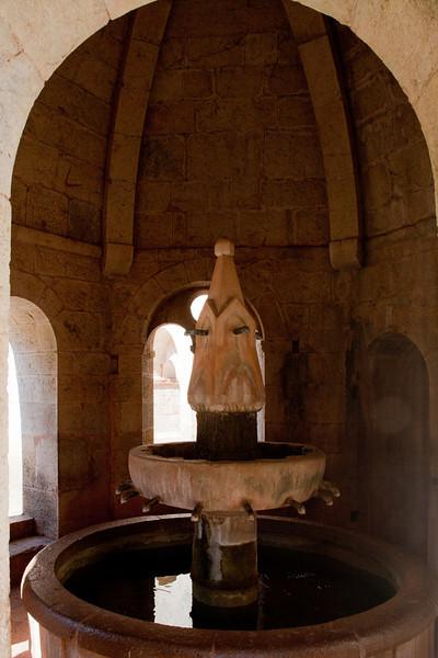 Le Thoronet Abbey Cloister Fountain